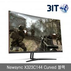 Newsync X323C144 Curved 블랙
