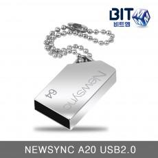 비트엠 NEWSYNC A20 USB2.0 64GB